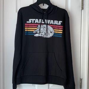 Star Wars Millennium Falcon Retro Stripes Hoodie